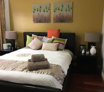 Suburban Retreat in Epping ~ Master Bedroom
