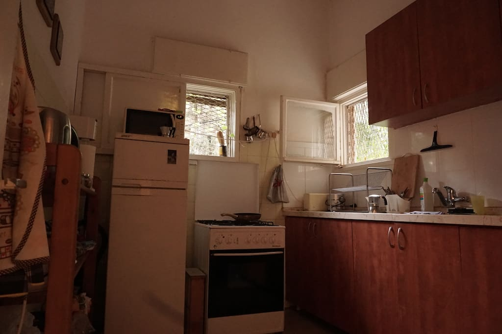 kitchen (bigger then appears in this photo)