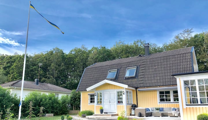 Large villa in Onsala near the sea and Gothenburg