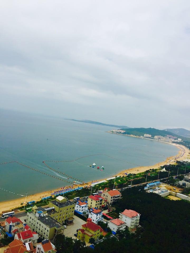 紧邻国际海水浴场小石岛钓鱼赶海公园