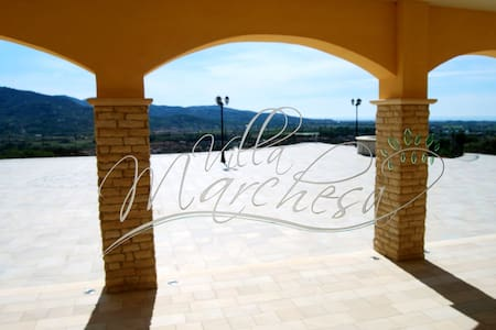 Villa Marchesa - Orchidea Room - Castelnuovo Cilento - Bed & Breakfast