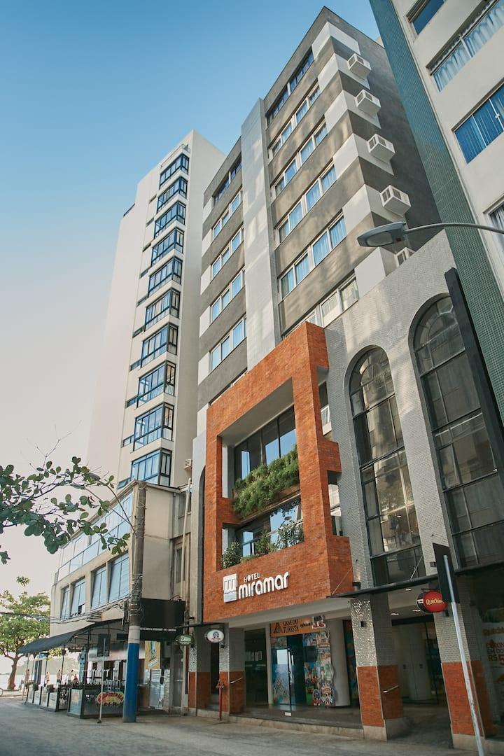 Hotel Miramar, Calçadão da Central, Quarto Triplo