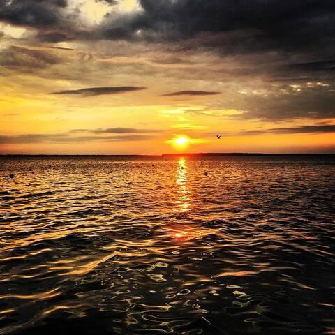 A Gorgeous OC Bayside Sunset