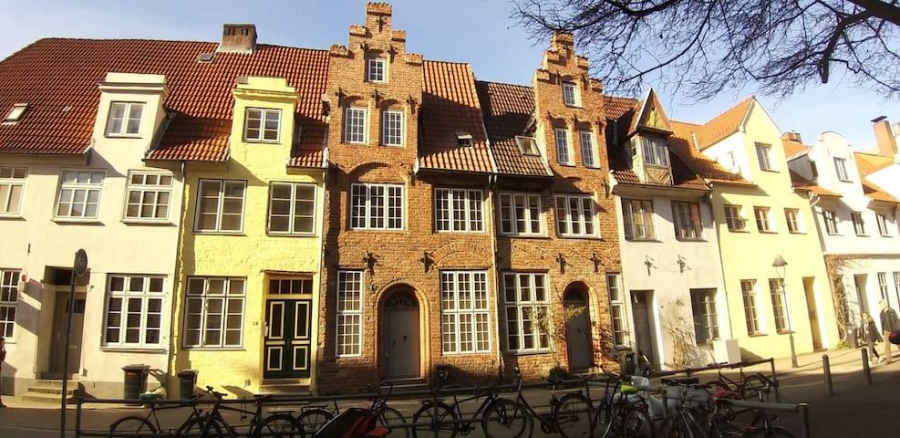 Traufenhaus-ein Denkmal in der Lübecker Altstadt 2
