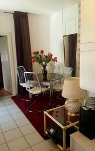 Grand 2 pièces 60 m2 meublé et paisible.