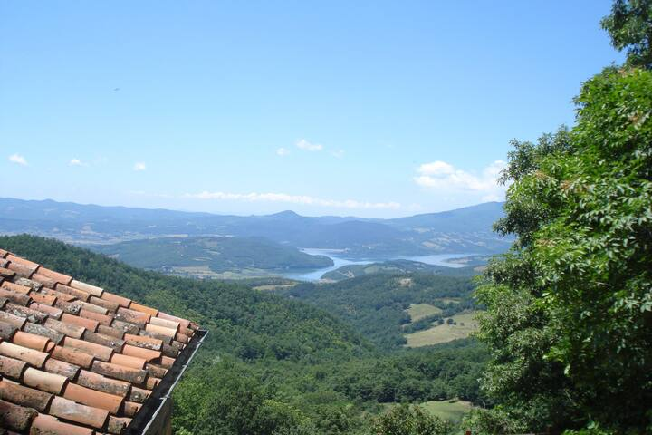 Tuscany, big apartment
