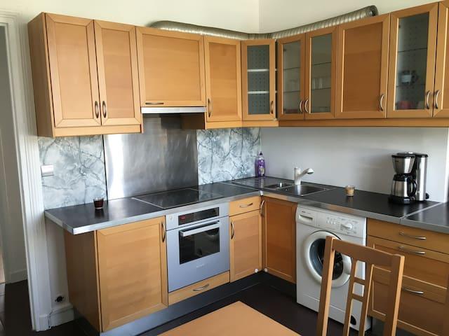 Appartement 70m2 calme Avec terrasse 50m2 - Argenteuil - Lakás