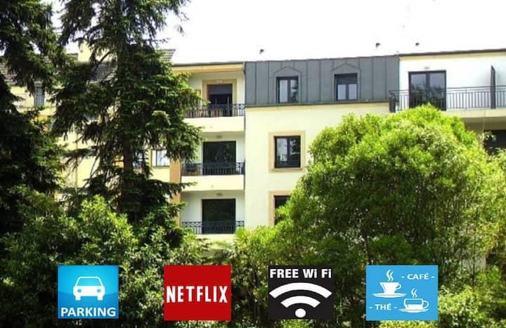 Bel appartement T2 renové  600m du château de Pau