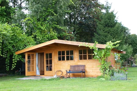 A wooden house in our garden - Emmen