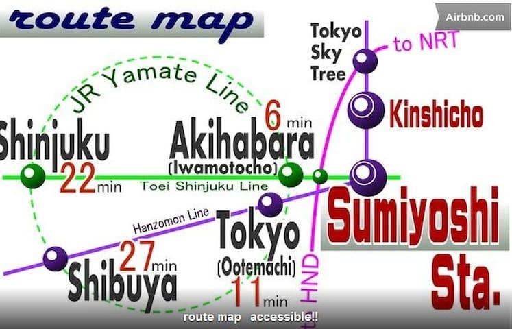 30sec Sta.nearSUMO AKB Shinjuku BB