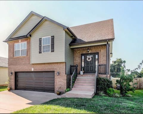 Beautiful two story home with pool and basic gym.