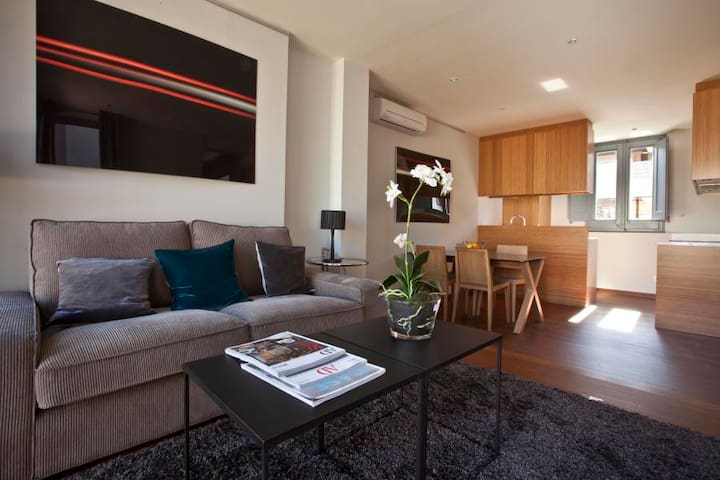 2903 - AB Luxury Palace Duplex - Luxury double-bed duplex penthouse with terrace and pool in Sarrià