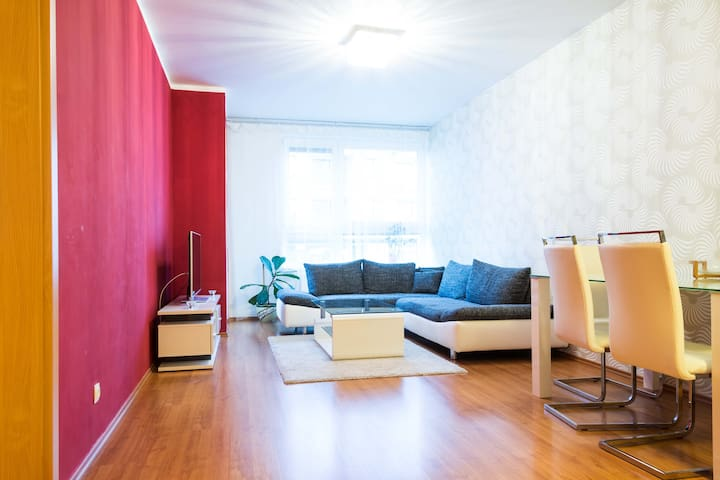 Cozy apartment, fast wifi, free parking - Prague