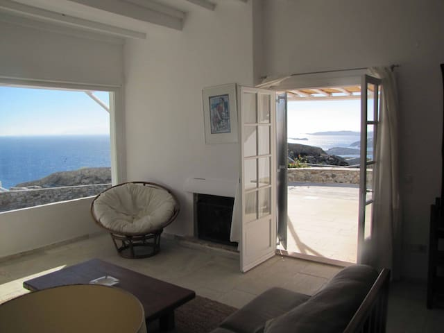Beautiful villa with amazing views - Mikonos - Casa