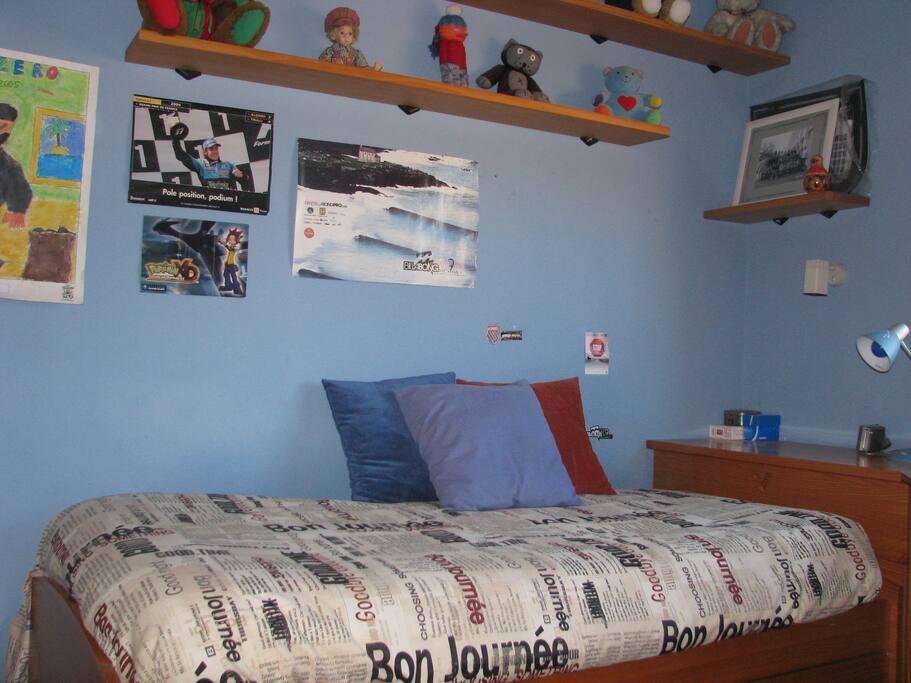 Habitación de dos camas.