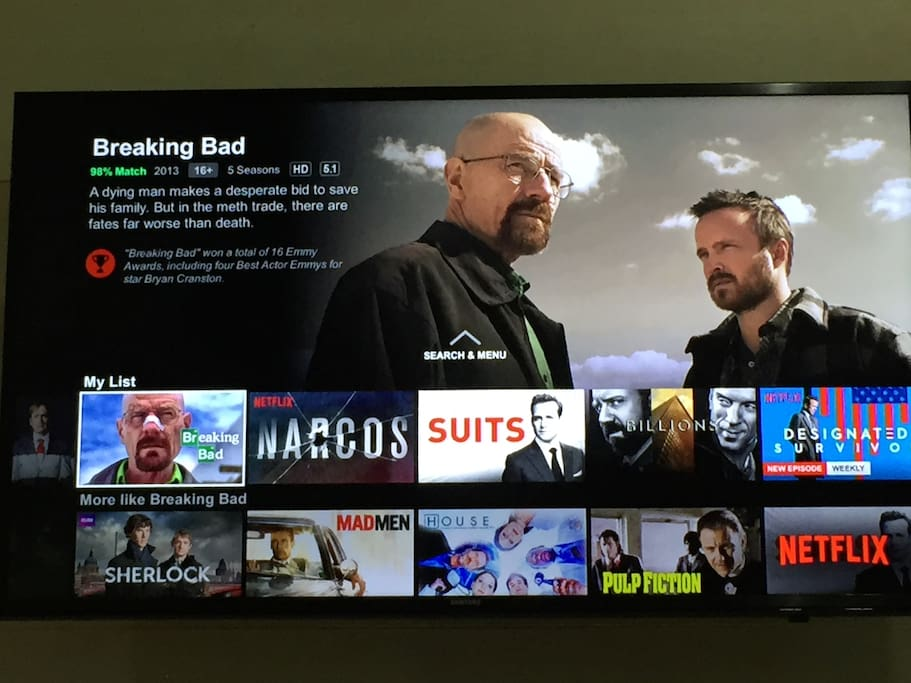 Netflix hd is available