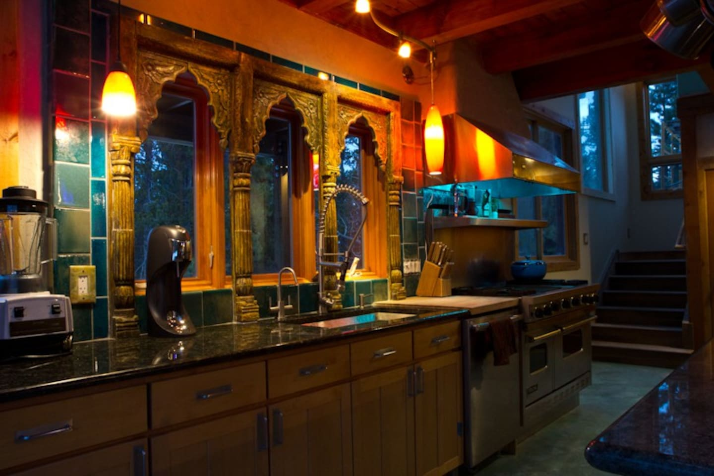 Kitchen in the Casita