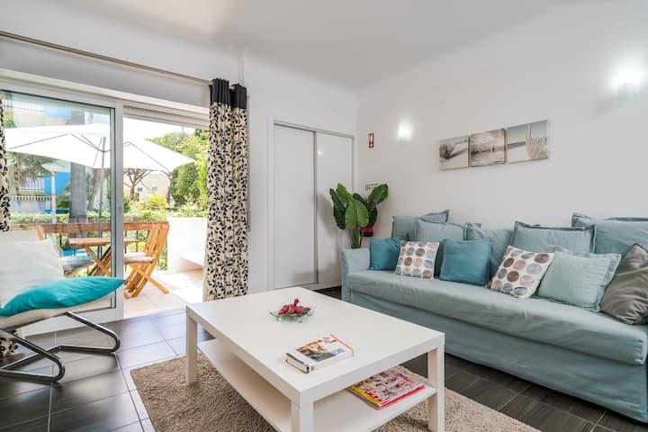 Vilamoura - Apartamento para 4 personas con todas las comodidades y piscina