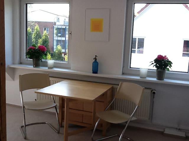 Wunderschöne DG Wohnung *für Frau* - Flintbek - Appartement
