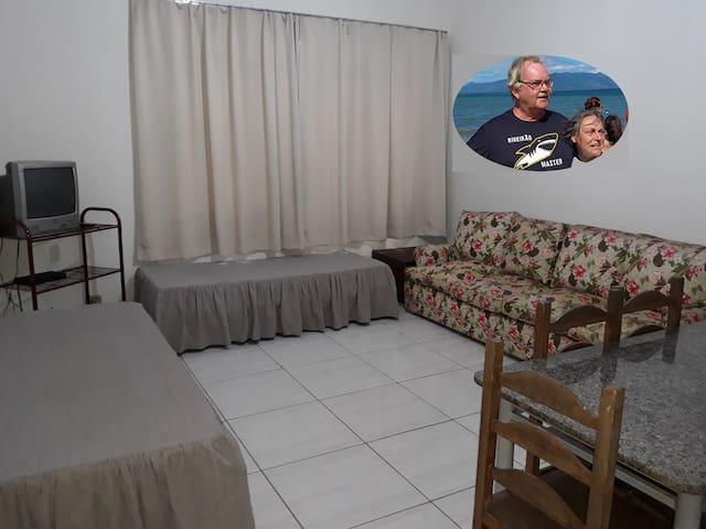 Apartamento para  5 pessoas, com opção para mais 2