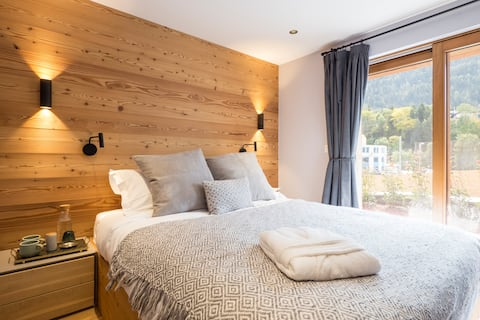 Üna Lodge - Double or twin bedroom with patio