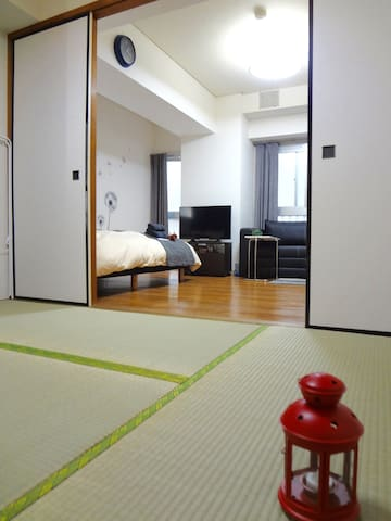 Yokoha Aparment @Chinatown +free Wifi 8pp - Kanagawa-ku, Yokohama-shi - Apartamento