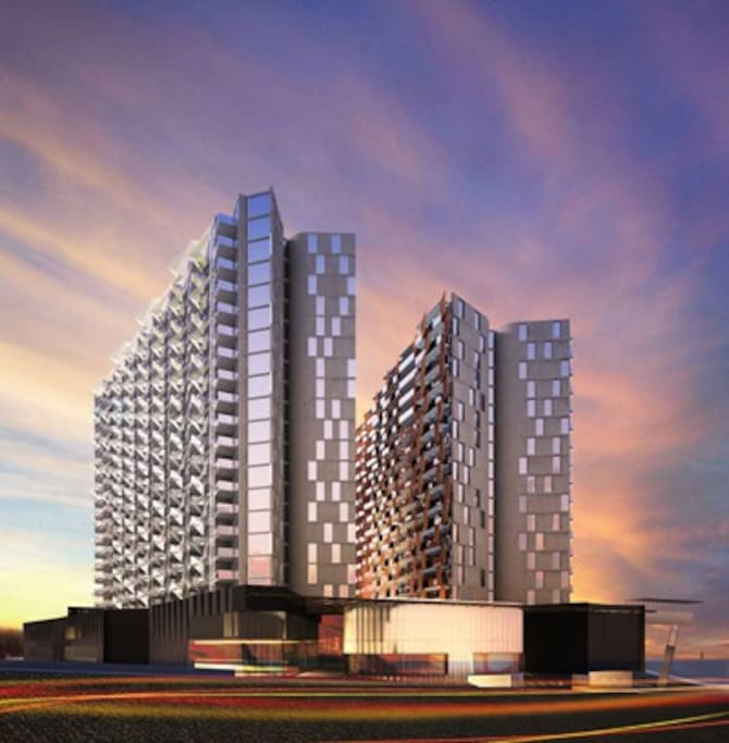 Model Lacrosse & M Docklands Building