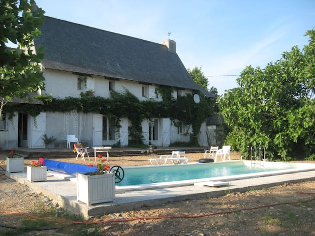 Big house near Loire Valley - Belligné