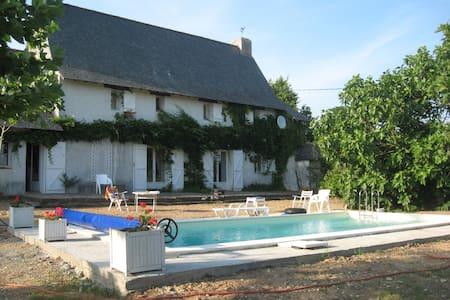 Grand gite rural rustique entre Angers et Nantes - Belligné - Casa