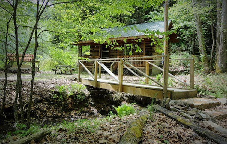 Windy Corner cabin at Torrent Falls - Slade - Mökki