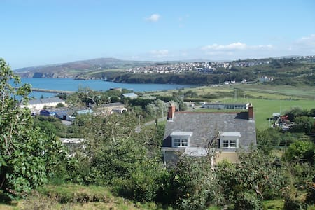 Comfy Victorian Villa with sea view - Fishguard