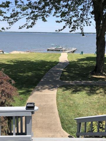 Updated!  Beautiful Grand Lake Waterfront Home!