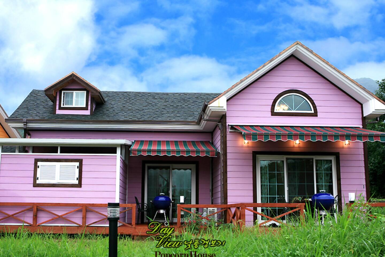 Lavender Heim room