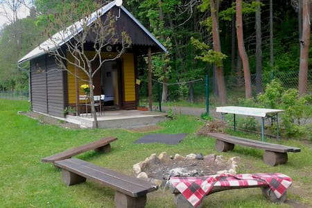 Lovely cabin by a swimming pool - Jetřichovice