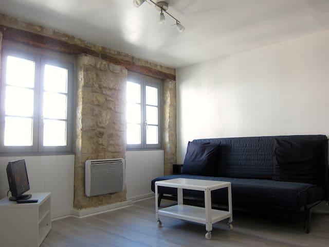 Studio meublé au coeur de Pontoise - Pontoise - Apartamento