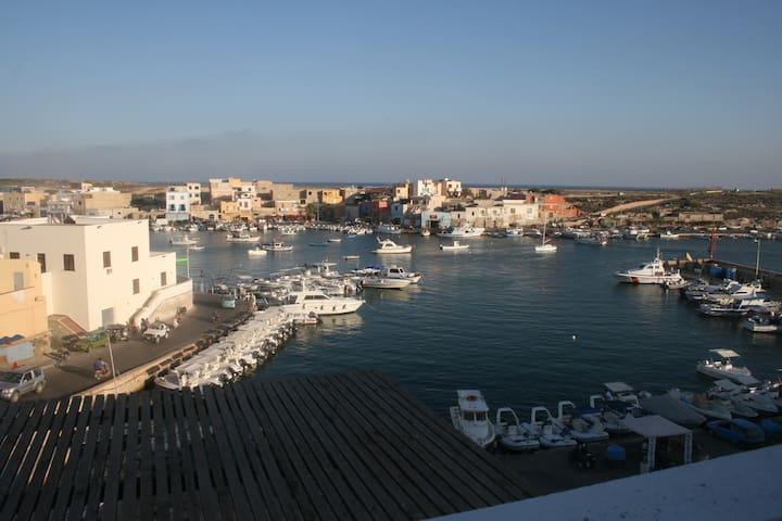 Terrazzatissimo sul porto vecchio - Lampedusa - House