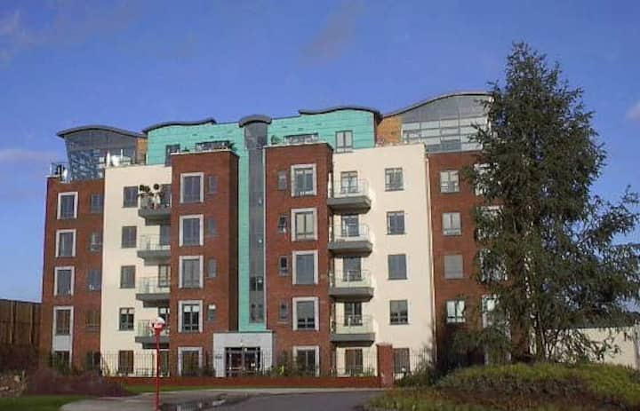 Cork City harbour apartment near Airport on N40