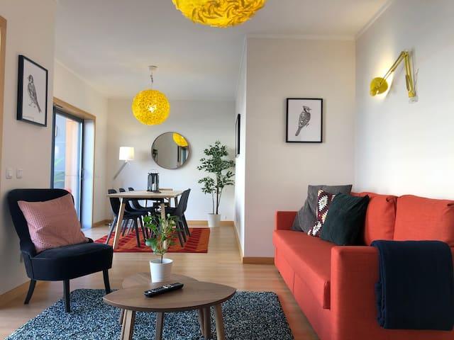 Lux, cozy, modern app w/ pool+sea-view, Algarve