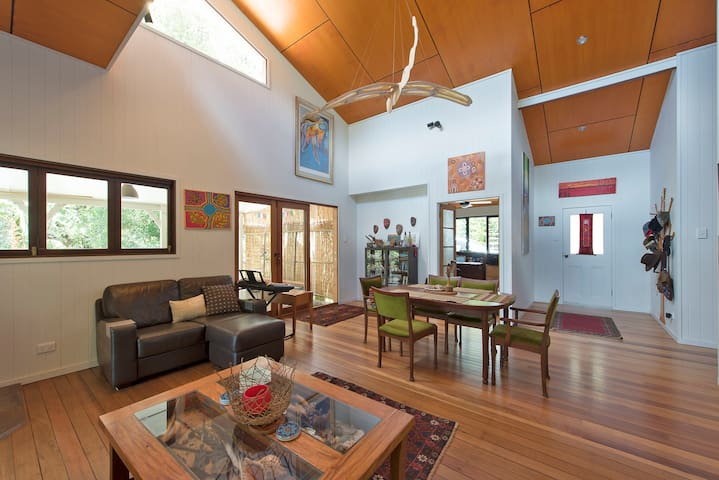Stunning Rural Eco Retreat 15min to Brunswick Head - Main Arm - Rumah