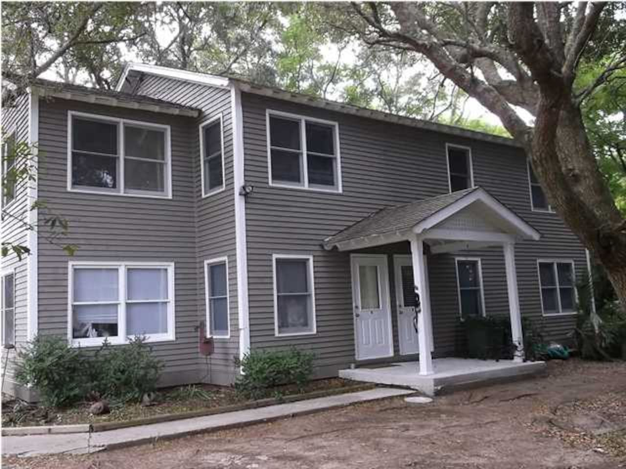 Shady, quiet residential neighborhood steps from the beach!