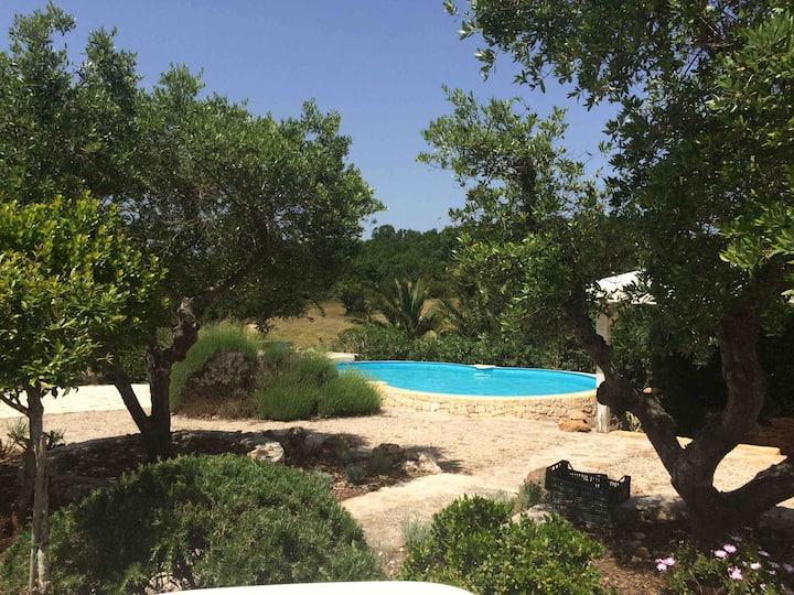 Puglia Stone Retreat With Pool
