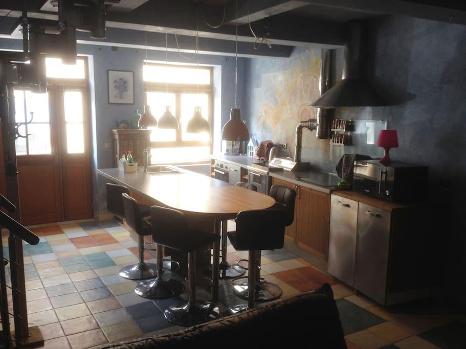 cuisine - salle à manger