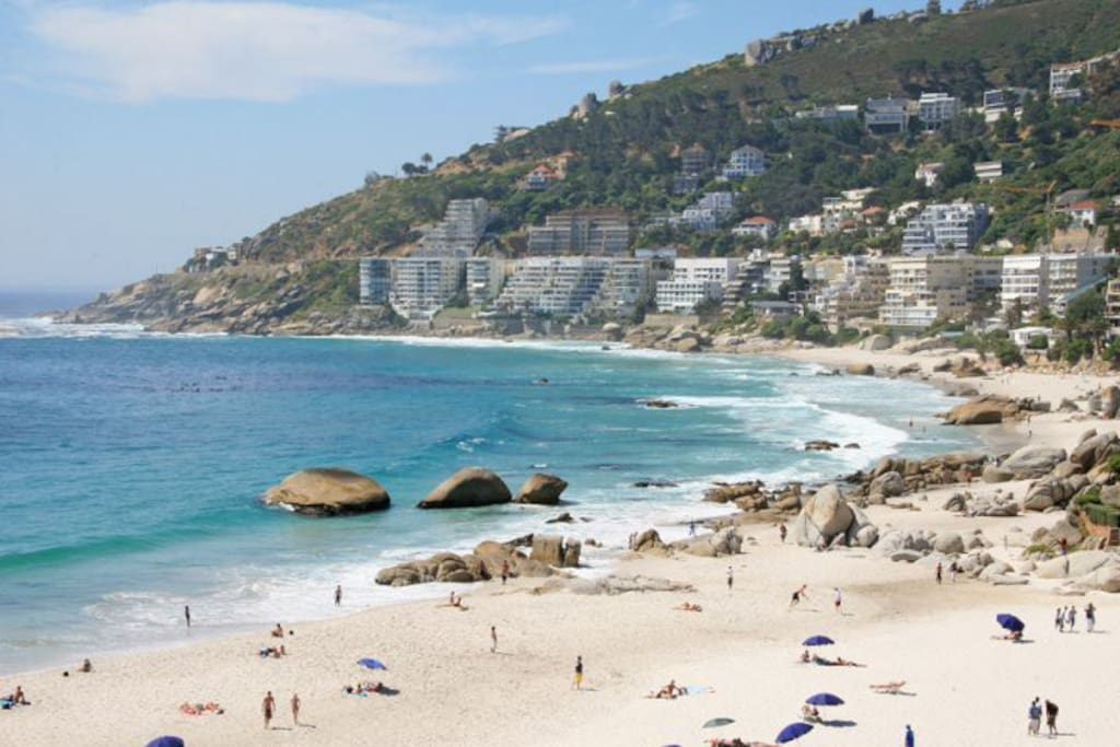 The View all the 4 beaches of Clifton