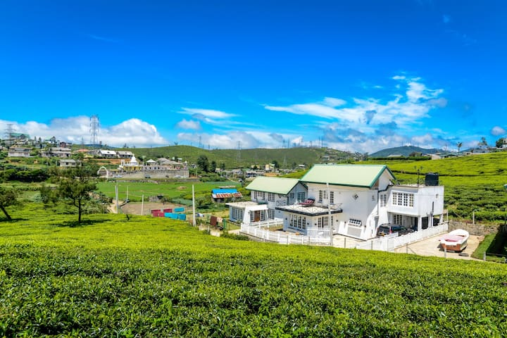 Stay at a Villa Room middle of Tea Plantations