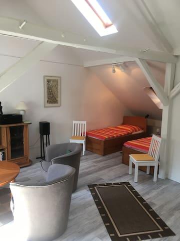 Gemütliche 1-Zimmerwohnung (45 qm) mit Bad/Küche!