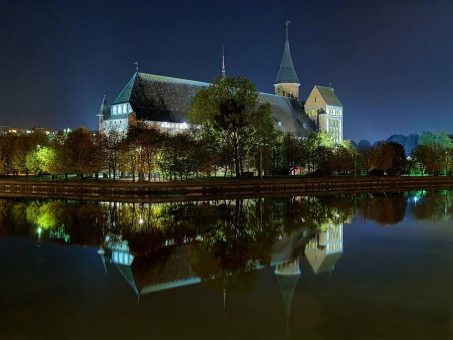 Кафедральный собор - вид с набережной