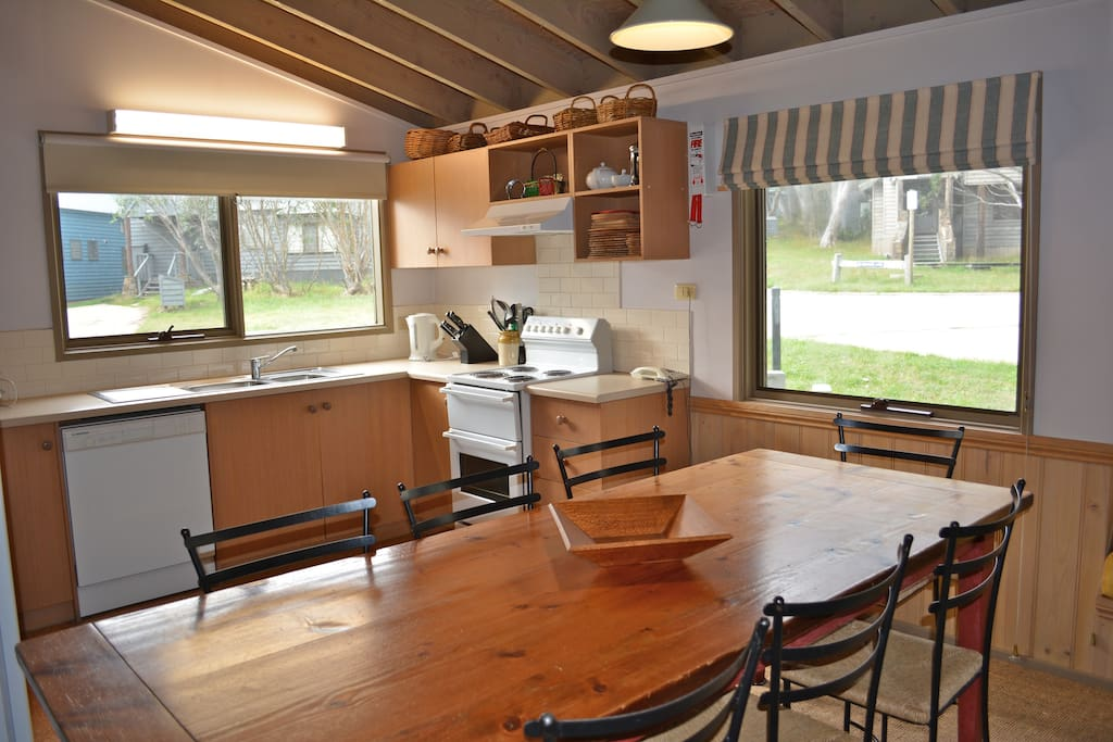 Dining overlooking Kitchen.