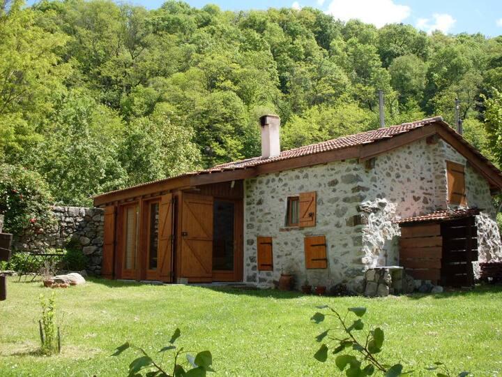 """Grange de 1900 révovée style """"loft"""""""