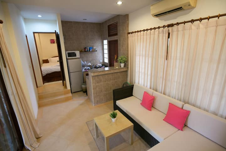 1 Bedroom Garden Villa with shared pool/Std Villa