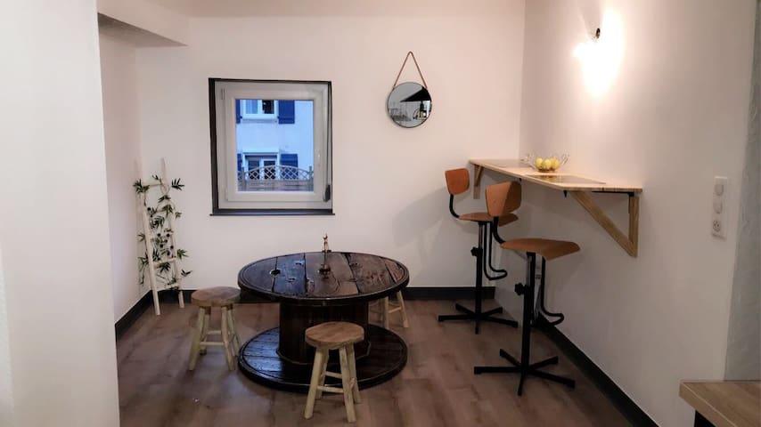 Appartement charmant située au pied d'une forêt 🌲